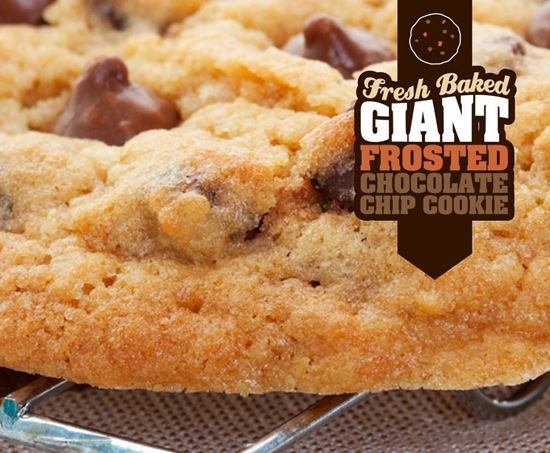 Picture of Giant Chocolate Chip Cookie